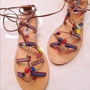 Steve Madden Ommaha Lace Up Sandals